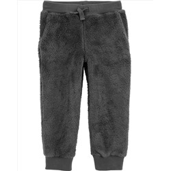 Pull-On Fuzzy Joggers