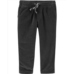 Lined Pull-On Corduroy Pants